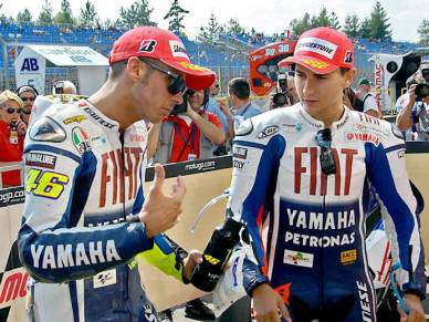 Rossi quer apagar má imagem, Lorenzo quer segundo lugar
