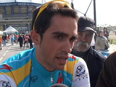 Contador vence terceira etapa