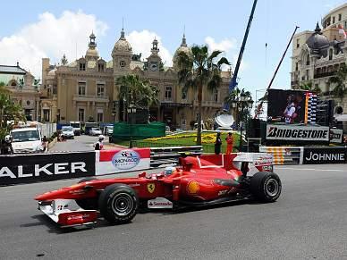 Alonso foi o mais rápido nas sessões de treinos livres