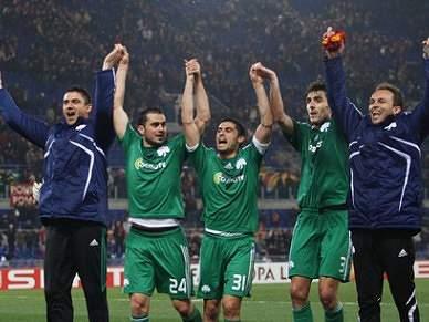 Panathinaikos é o novo campeão