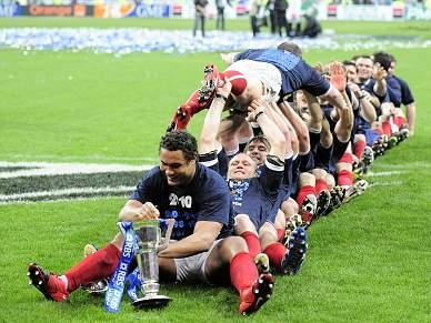 França vence Inglaterra e faz a festa
