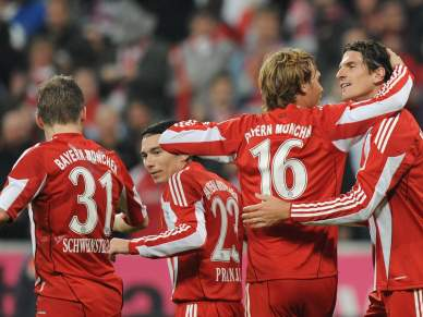 Bayern Munique segue para a segunda ronda