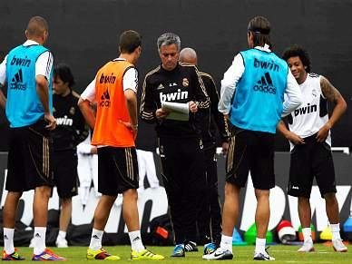 Atropelamento no treino do Real Madrid