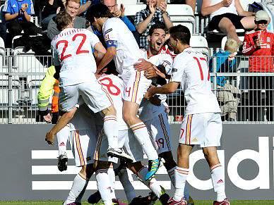 Espanha é a primeira apurada para as meias-finais