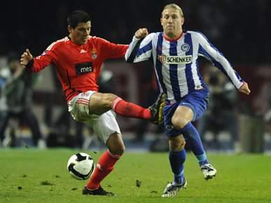 Benfica reencontra Hertha um ano depois