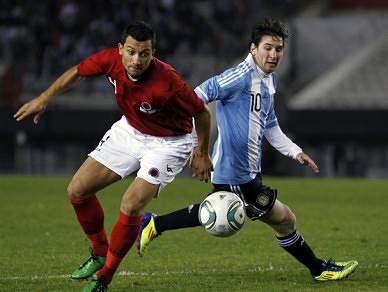 Argentina goleia Albânia