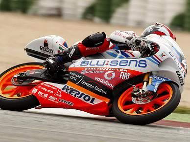 Miguel Oliveira em segundo lugar do Campeonato de Espanha 125cc