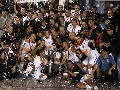Santos é campeão da Libertadores