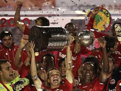 Internacional vence Taça Libertadores