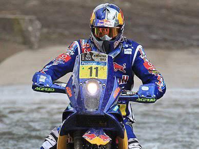 Ruben Faria feliz por vencer primeira etapa em motos