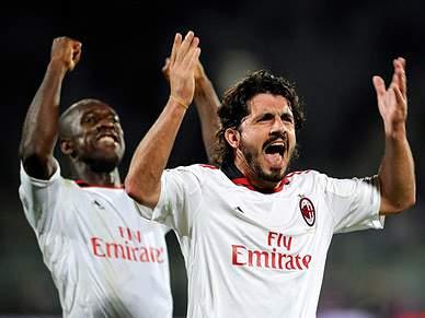 AC Milan segue na frente