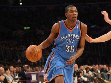 Durant abate os Denver Nuggets