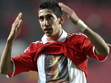 Vitória do Benfica escrita pela letra de Di María
