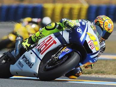Rossi é o mais rápido em Le Mans