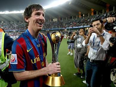 Messi distinguido com Bola de Ouro