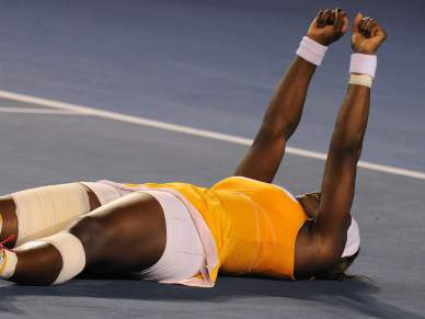Serena faz o 'penta' contra Justine Henin