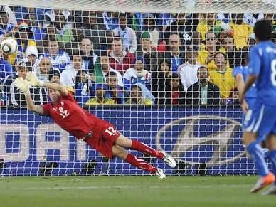Itália diz 'arrivederci' ao Mundial 2010