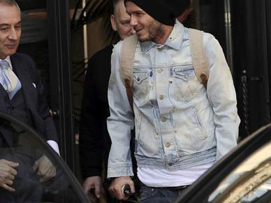 Beckham promete regressar em plena forma nos próximos meses