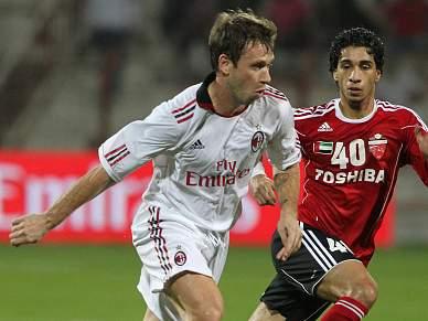 AC Milan vence Al-Ahli de Manuel José por 2-1