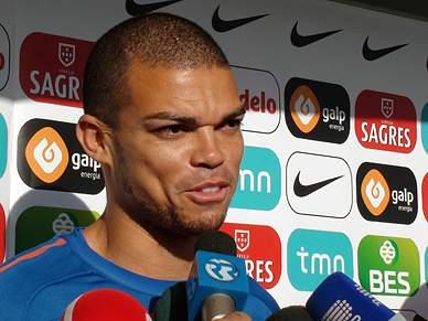 Pepe diz que está «a cem por cento» na selecção