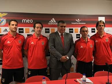 Benfica arranca cheio de ambição