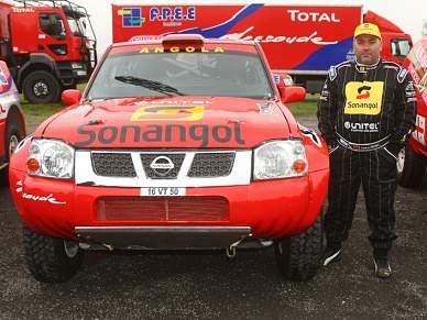 Carlos Oliveira prepara primeira equipa angolana para o Dakar