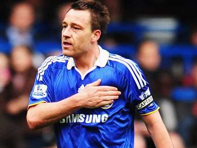 Terry autorizado a falhar próximo jogo do Chelsea
