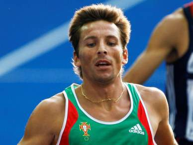 Rui Silva na final dos 3000 metros