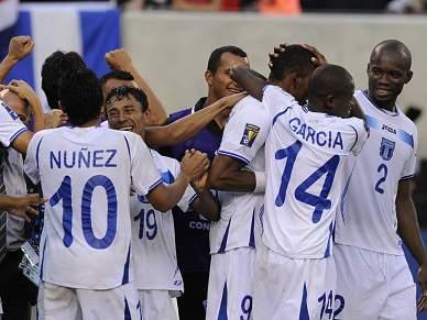 Honduras passam às meias-finais da Gold Cup