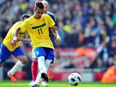 Neymar alvo de actos racistas no jogo de Londres