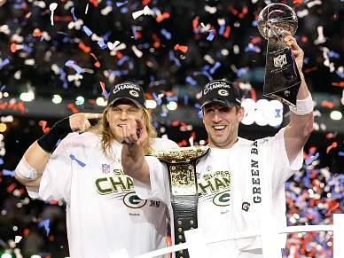 Packers fazem a festa no Super Bowl