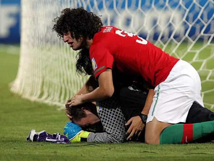 Mika e Luís Ribeiro sem
