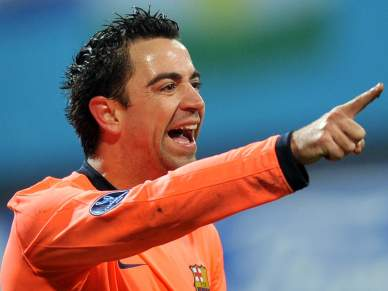 Xavi de regresso