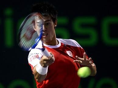 Nishikori leva Japão a uma final