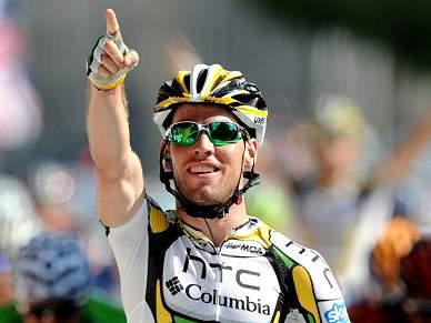 Cavendish sprinta para a quarta vitória