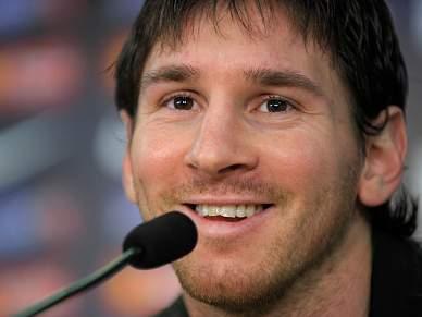 Messi quer manter Bola de Ouro no balneário do Barça
