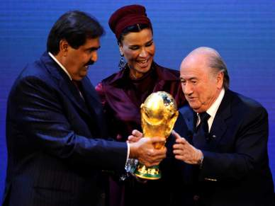 Blatter propõe jogos fora do Qatar
