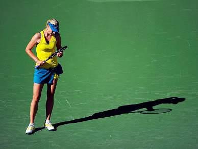 Sharapova eliminada no Indian Wells