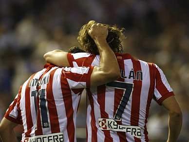 Atlético não quer perder barco Europeu