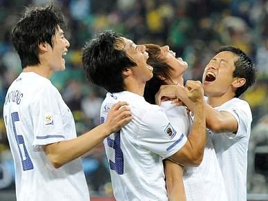 Coreia do Sul acompanha Argentina nos oitavos