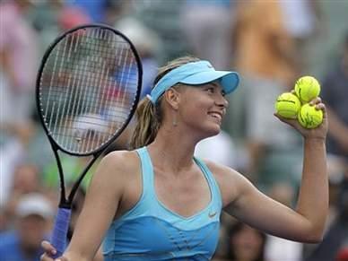 Sharapova conquista primeiro título do ano