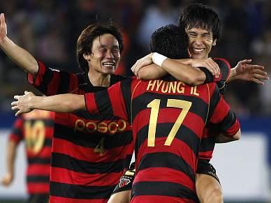 Pohang Steelers terceiro classificado