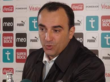 """""""Agradeço a Sá Pinto o apoio e desejo-lhe as maiores felicidades"""""""