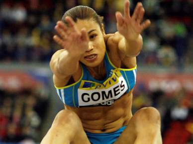 Naide Gomes foi segunda