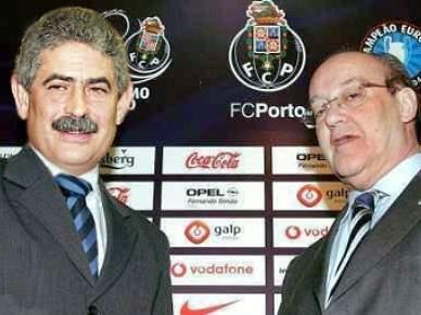 Vieira e Pinto da Costa à mesma hora