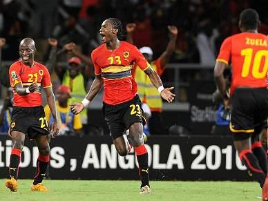 Angola bate Emirados Árabes Unidos