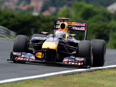 Sebastian Vettel foi o mais rápido nos treinos livres