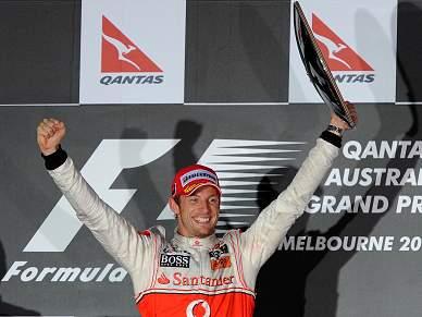 Jenson Button vence na Austrália