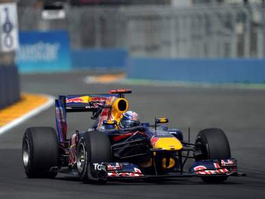 Sebastian Vettel o mais rápido em Barcelona