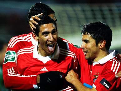 Di Maria diz que Benfica vai dar tudo pela vitória
